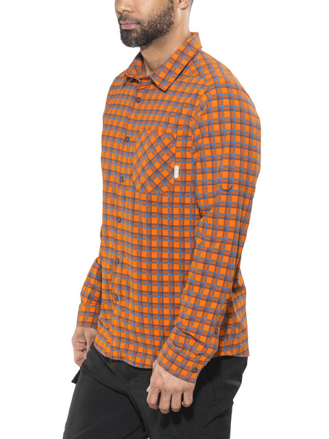 Columbia Triple Canyon - T-shirt manches longues Homme - orange